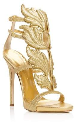 Giuseppe Zanotti Women's Cruel Coline Wing-Embellished High-Heel Sandals