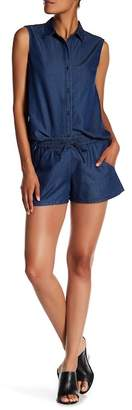 French Connection Little Venice Chambray Shorts