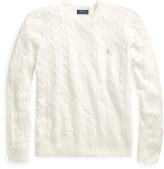 Ralph Lauren Cable Merino-Cashmere Sweater
