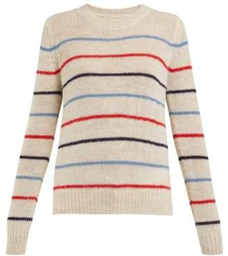 Etoile Isabel Marant Gian Striped Sweater - Womens - Cream Multi