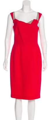 Roland Mouret Wool Midi Dress