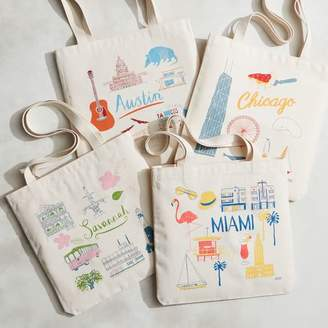 west elm Claudia Pearson City Tote Bags