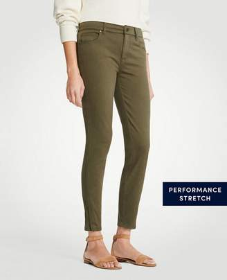 Ann Taylor Modern Ankle Zip All Day Skinny Crop Jeans