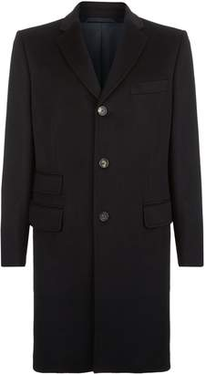 Harrods Pure Cashmere Classic Coat