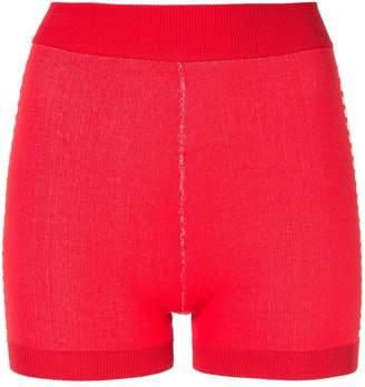 Nagnata Yoni side stripe compression shorts