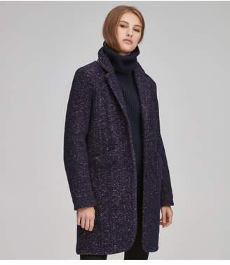 Andrew Marc Windsor Wool Blazer Coat