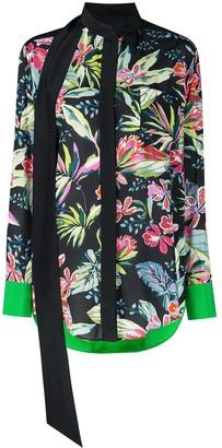 Barbara Bui floral pattern blouse