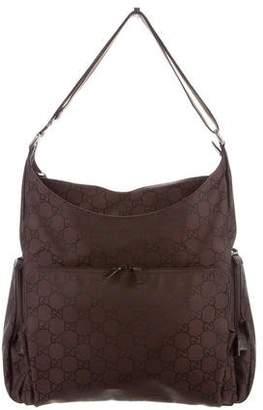 Gucci GG Nylon Diaper Bag
