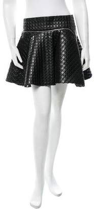 Jay Ahr Textured Mini Skirt w/ Tags
