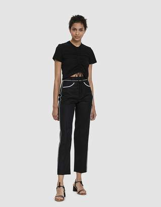 Which We Want Maddie Ruched Crop Top