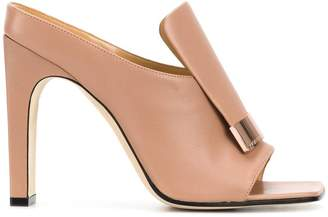 Sergio Rossi square toe sandals