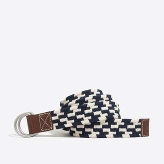 J.Crew Factory Navy and white belt