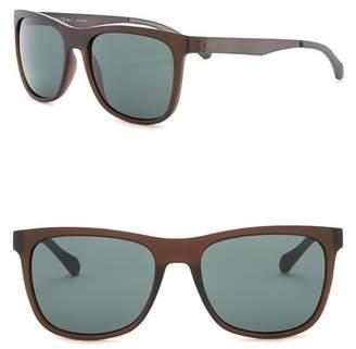 BOSS 55mm Square Sunglasses