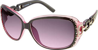 Southpole South Pole Full Frame Rectangular UV Protection Sunglasses-Womens