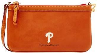 Dooney & Bourke MLB Phillies Large Slim Wristlet
