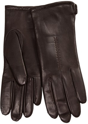 Cire by Grandoe Sensor Touch Leather Gloves (For Women) $19.99 thestylecure.com
