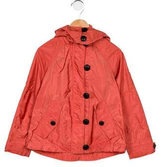 Burberry Girls' Hooded Lightweight Jacket