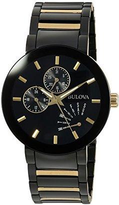 Bulova Black-Gold Tone Classic 98C124