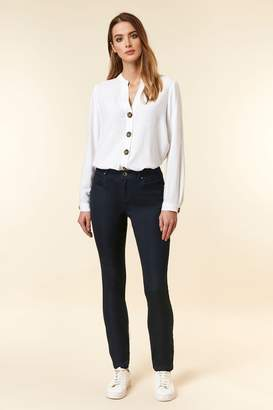 Wallis Womens Navy Fitted Jegging - Blue