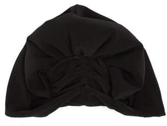 Norma Kamali Fan turban hat