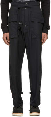 TAKAHIROMIYASHITA TheSoloist. Black Military Trousers