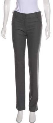 Fendi Mid-Rise Wool Pants