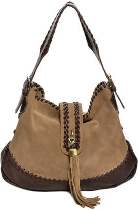 Carla Mancini Cm985 Suede Shoulder Bag