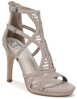 Fergalicious Miko Ankle Cage Stiletto Sandals