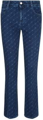 Stella McCartney Logo Printed Jeans
