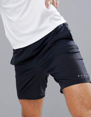 Asos 4505 training shorts in black