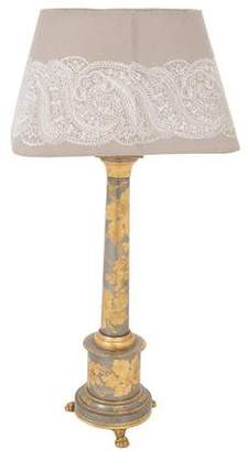 Gilded Floral Table Lamps