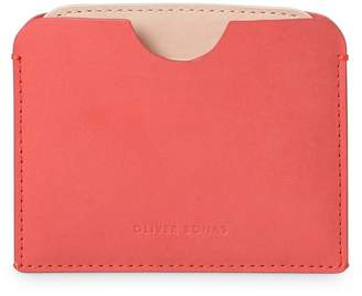 Oliver Bonas Avery Pop Up Red Leather Card Holder