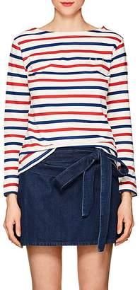 """Maison Labiche Women's """"Oh La La"""" Striped Cotton T-Shirt"""