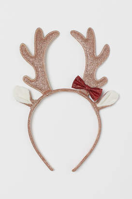 H&M Alice band with antlers