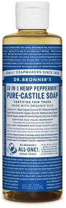 Dr Bronner Dr. Bronner's Organic Peppermint Castile Liquid Soap 237ml - No Colour