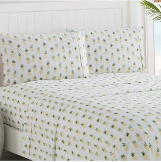 Caribbean Joe Cathay Home Inc. Microfiber King Print Sheet Set Bedding