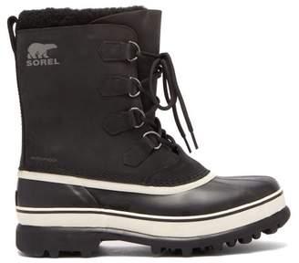 Sorel Caribou Nubuck Snow Boots - Mens - Black