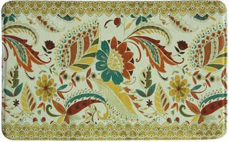 Bacova Guild Boho Floral Rectangular Kitchen Mat
