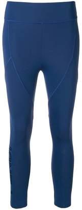 Fendi fitted logo leggings