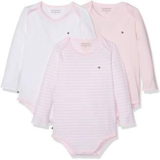 Tommy Hilfiger Baby Girls' Body 3 Pack Bodysuit