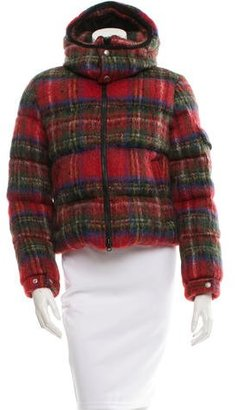 Junya Watanabe Mohair & Wool-Blend Jacket w/ Tags $595 thestylecure.com