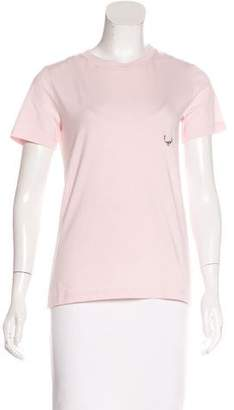 Thierry Mugler 2016 Embellished Short Sleeve T-Shirt w/ Tags