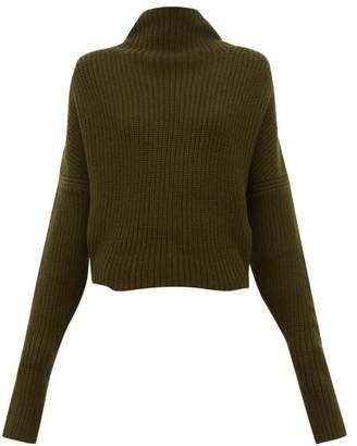 Petar Petrov Kate Slouched Cashmere Sweater - Womens - Khaki