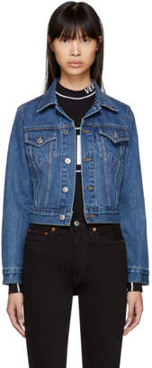 RE/DONE Blue Originals Classic Denim Trucker Jacket