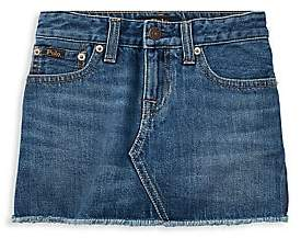 Ralph Lauren Little Girl's& Girl's Denim Skirt