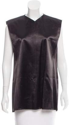 Celine Sleeveless V-Neckline Top