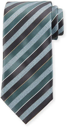 Brioni Striped 3 Silk Tie