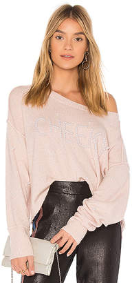 Wildfox Couture Cheeky Pullover Sweater
