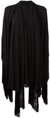 Plein Sud Jeans draped tunic dress
