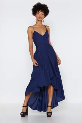 Nasty Gal Rule the Dance Floor Lace-Up Dress